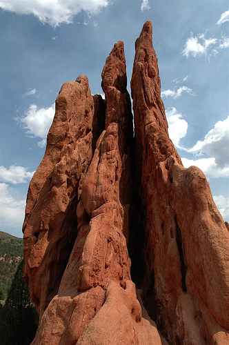 State report colorado for Garden of the gods rock climbing